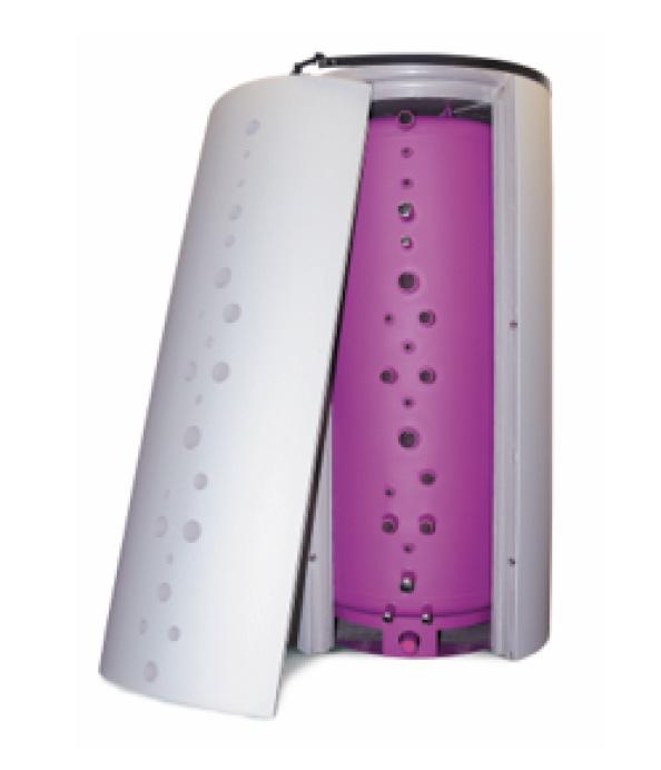 熱交換器内蔵  蓄熱タンク